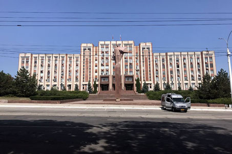 A day in Tiraspol, Pridnestrovie Republic (Transnistria)