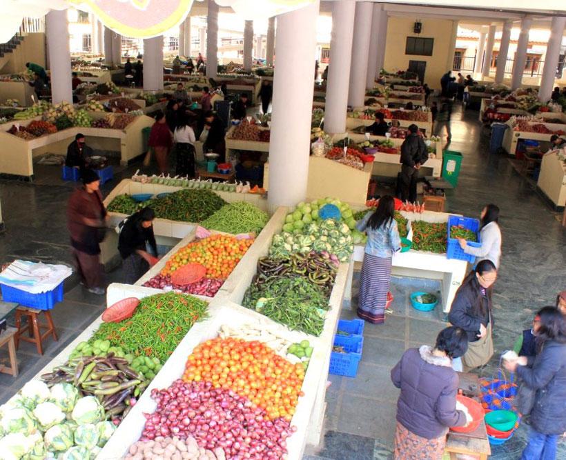 Thimphu Centenary Farmer's Market
