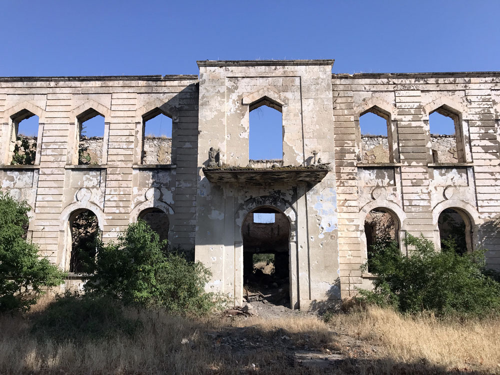 Agdam ghost town, Artsakh