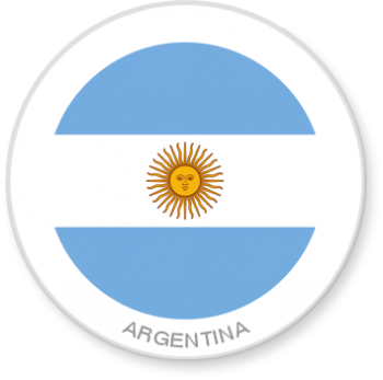 Flag Sticker - Argentina