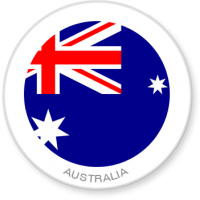 Flag Sticker - Australia