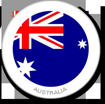Flag Sticker - Australia