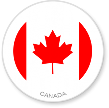 Flag Sticker - Canada