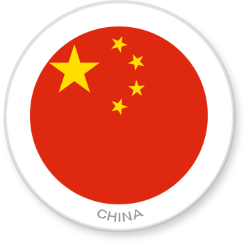Flag Sticker - China