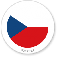 Flag Sticker - Czechia