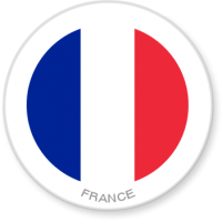 Flag Sticker - France