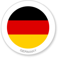Flag Sticker - Germany