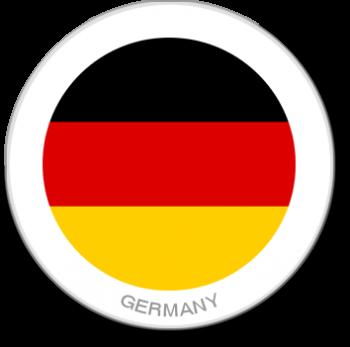 Flag Sticker - Germany