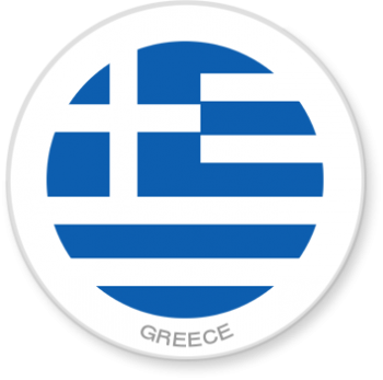 Flag Sticker - Greece