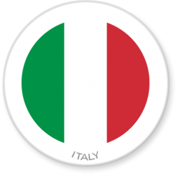 Flag Sticker - Italy