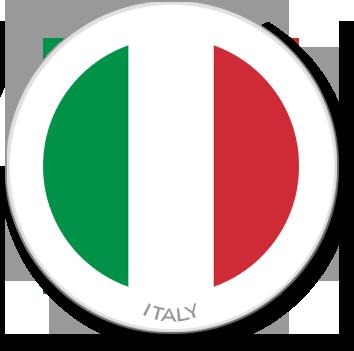 Flag Sticker - Italy