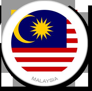 Flag Sticker - Malaysia