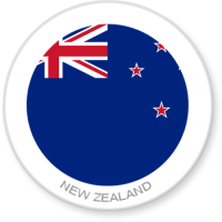 Flag Sticker - New Zealand