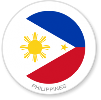 Flag Sticker - Philippines