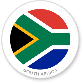 Flag Sticker - South Africa