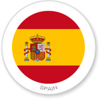 Flag Sticker - Spain
