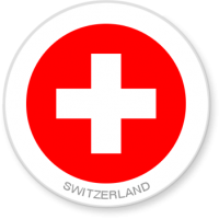 Flag Sticker - Switzerland