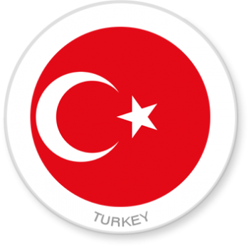 Flag Sticker - Turkey