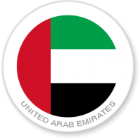 Flag Sticker - United Arab Emirates
