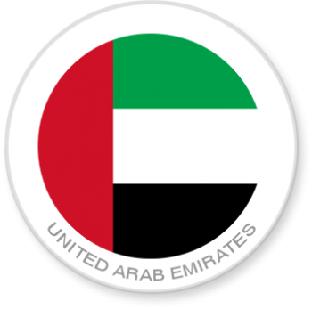 Flag Sticker - United Arab Emirates