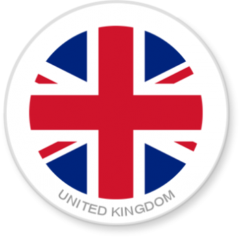 Flag Sticker - United Kingdom