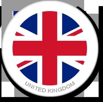 Flag Sticker - United Kingdom