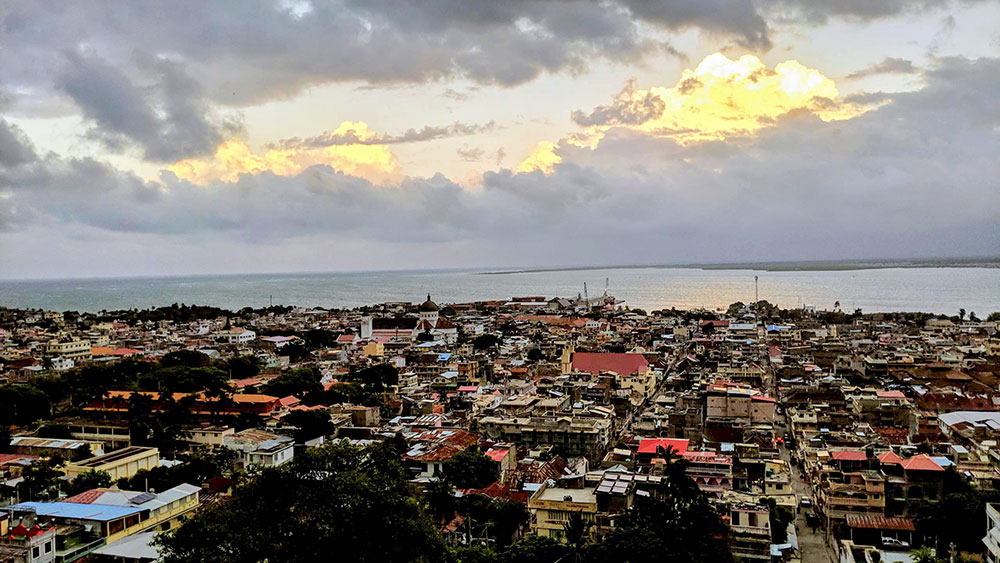 View of Cap-Haitien from Hotel Des Lauriers