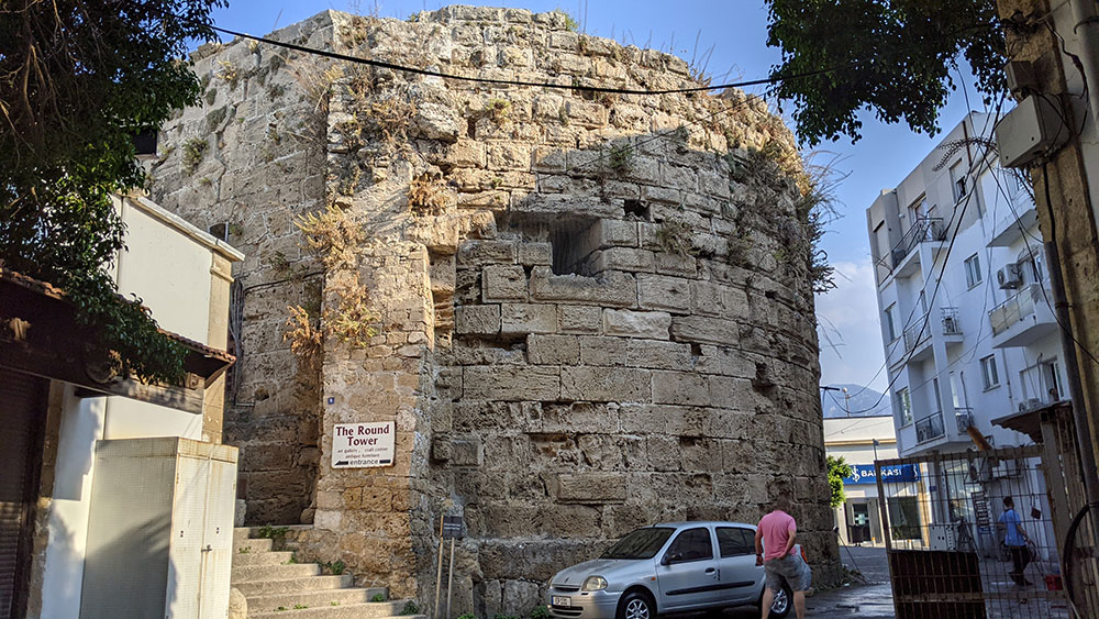 Round Tower in Girne