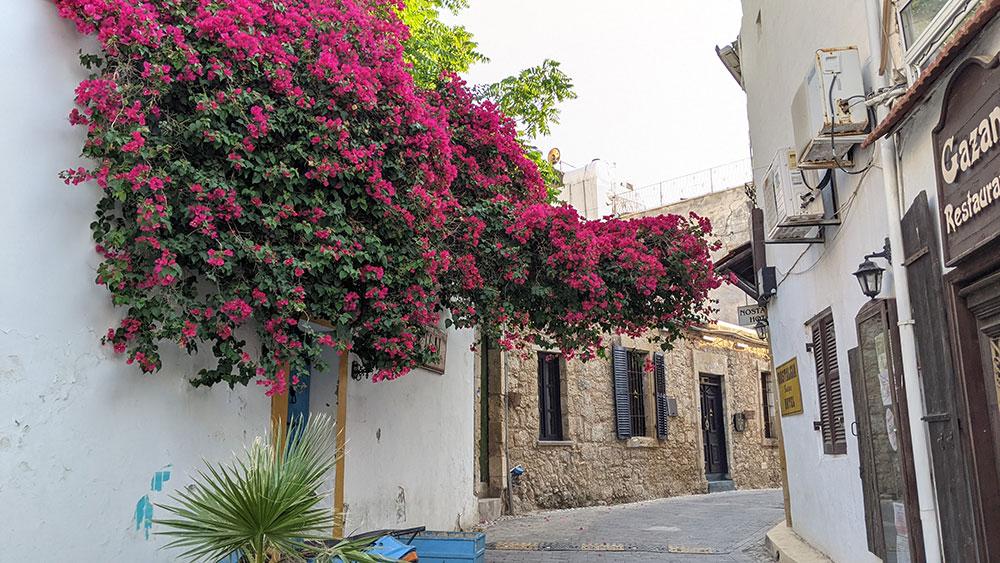 Beautiful street in Girne