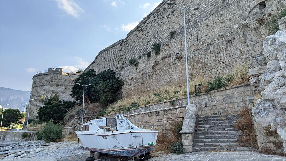 Walls of Girne Castle