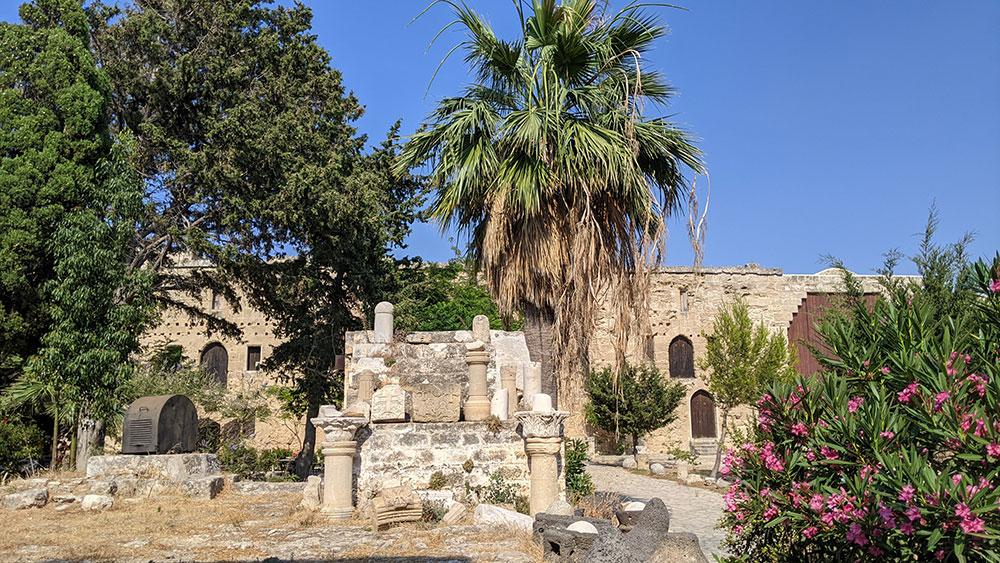 Inside Girne Castle