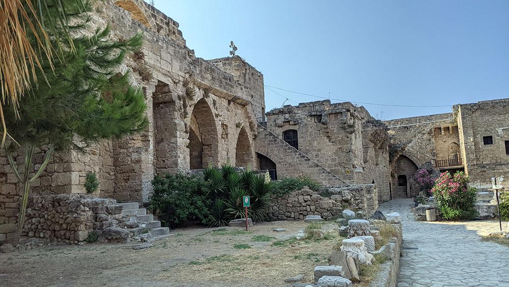 Western side of inner walls in Girne Castle