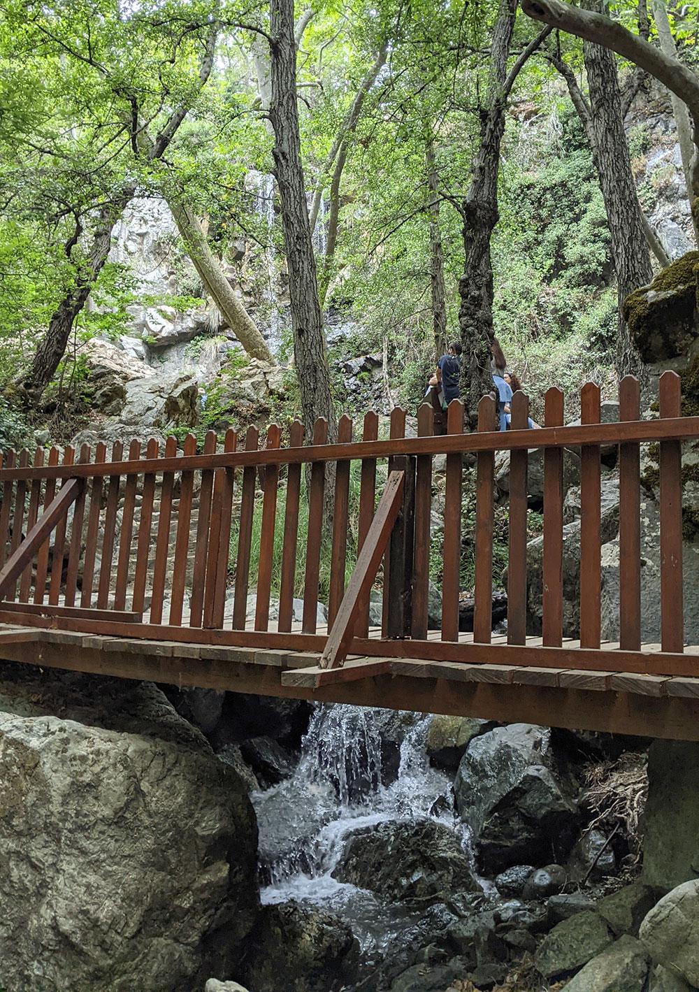 Kaledonia Waterfalls Trail, Cyprus