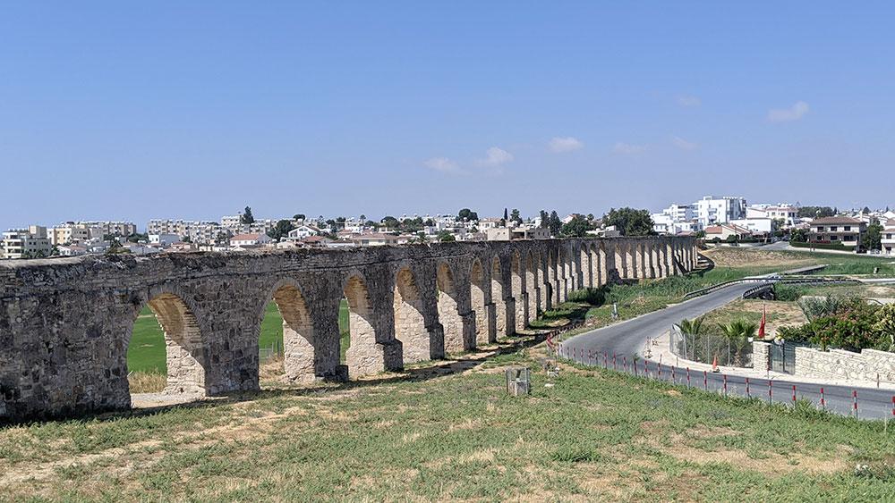 Kamares Aqueduct, Larnaca, Cyprus