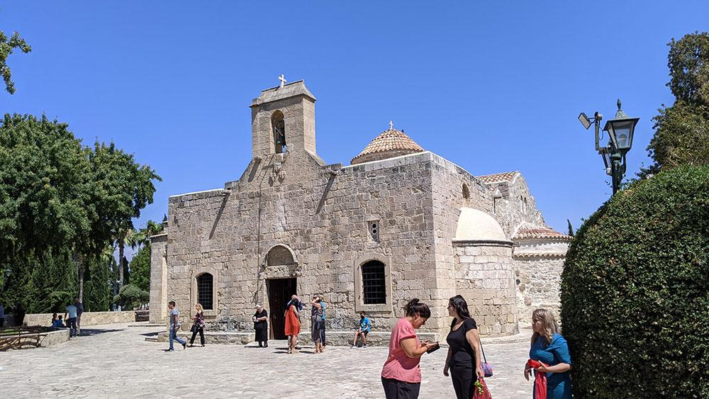 Panagia Angeloktisti, Kiti, Cyprus