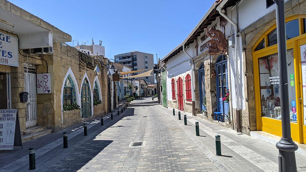 Skala neighborhood, Larnaca, Cyprus