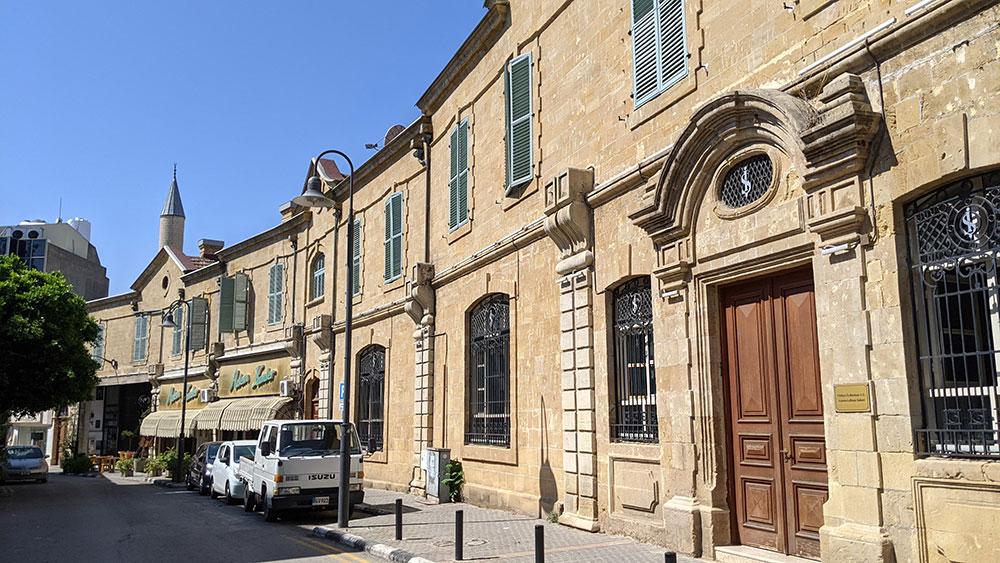 Colonial-era buildings in Lefkoşa