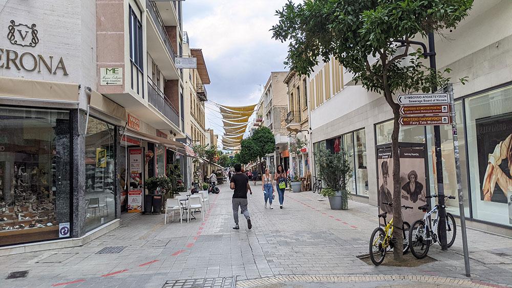 Ledras Street, Nicosia, Cyprus