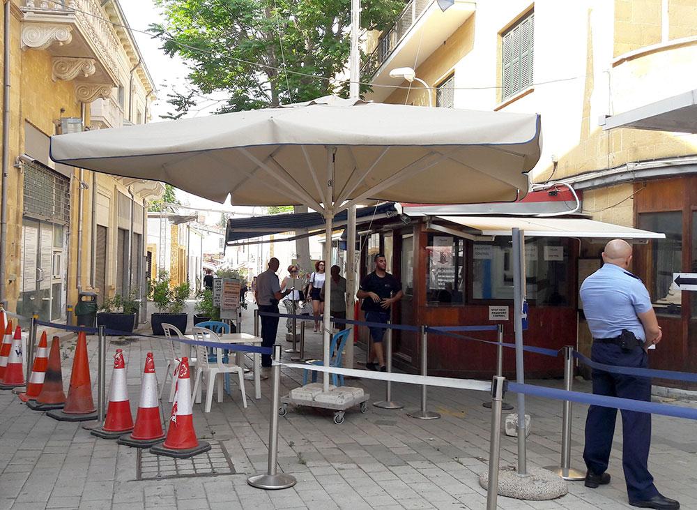 Ledras Border Crossing, Nicosia, Cyprus