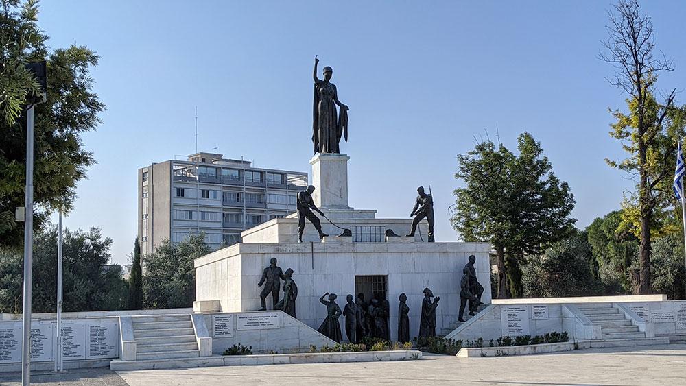 The Liberty Monument, Nicosia