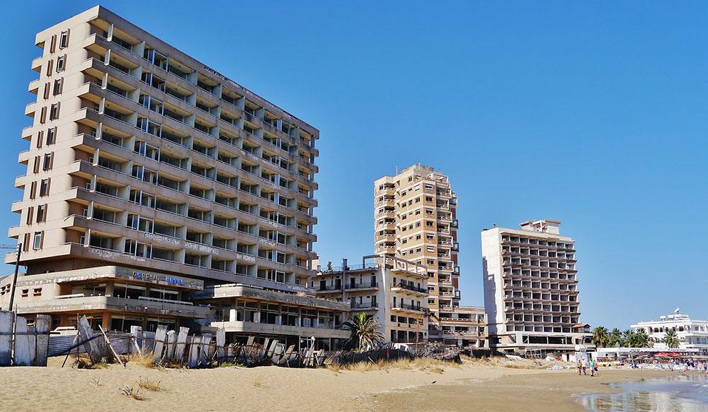 Beach in Varosha