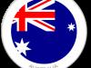 Flag Sticker of Australia