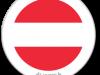 Flag Sticker of Austria