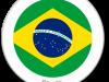Flag Sticker of Brazil