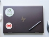 Flag Sticker of Canada on laptop