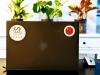 Flag Sticker - China on a laptop