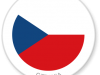 Flag Sticker of Czechia