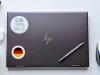 Flag Sticker of Germany on laptop