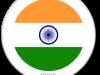 Flag Sticker of India