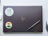 Flag Sticker of India on laptop